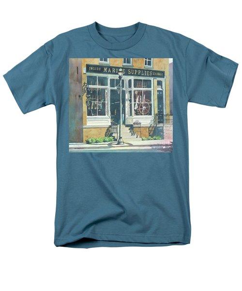 Marine Supply Store Men's T-Shirt  (Regular Fit) by LeAnne Sowa