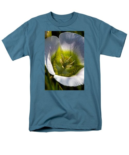 Mariposa Lily Men's T-Shirt  (Regular Fit) by Alana Thrower