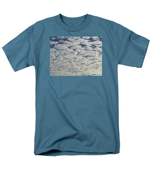 Marshmallow Sky Men's T-Shirt  (Regular Fit) by Patricia E Sundik