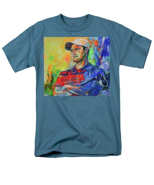 Martin Kaymer Men's T-Shirt  (Regular Fit) by Koro Arandia