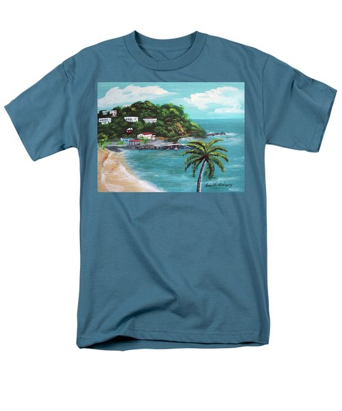 Maunabo Puerto Rico Men's T-Shirt  (Regular Fit) by Luis F Rodriguez