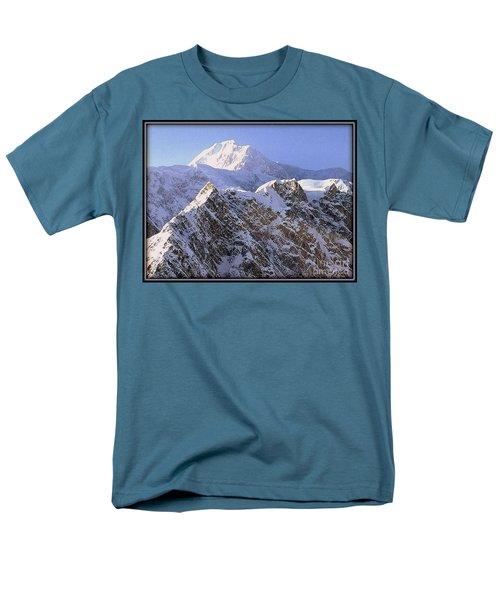 Men's T-Shirt  (Regular Fit) featuring the photograph Mc Kinley Peak by James Lanigan Thompson MFA