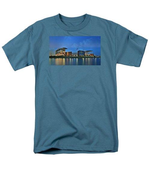 Mclane Stadium -- Baylor University Men's T-Shirt  (Regular Fit) by Stephen Stookey
