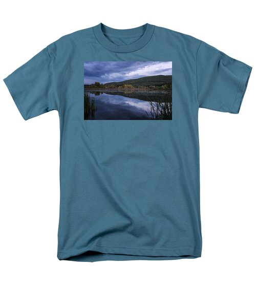 Men's T-Shirt  (Regular Fit) featuring the photograph Meadows Dusk by Tom Singleton