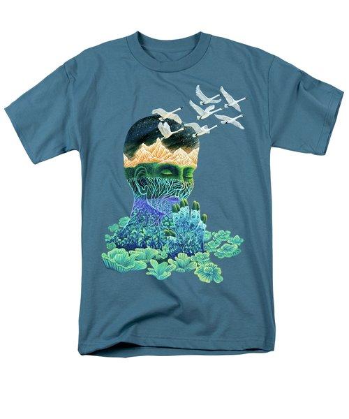 Meditation Men's T-Shirt  (Regular Fit) by Ruta Dumalakaite