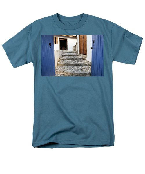 Mediteranean Old House Men's T-Shirt  (Regular Fit) by Mike Santis