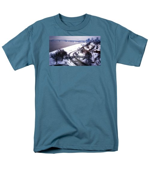 Memphis View From My Penthouse Men's T-Shirt  (Regular Fit) by Belinda Lee