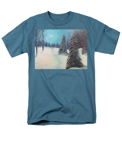 Midnight Silence Men's T-Shirt  (Regular Fit) by Thomas Janos