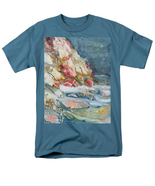 Midnight Surf Men's T-Shirt  (Regular Fit) by Ruth Kamenev