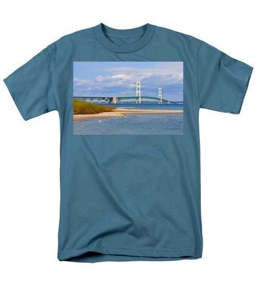 Mighty Mac In October Men's T-Shirt  (Regular Fit) by Keith Stokes