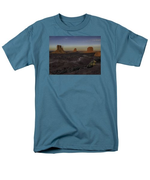 Men's T-Shirt  (Regular Fit) featuring the photograph Mittens Morning Greeting by Rob Wilson