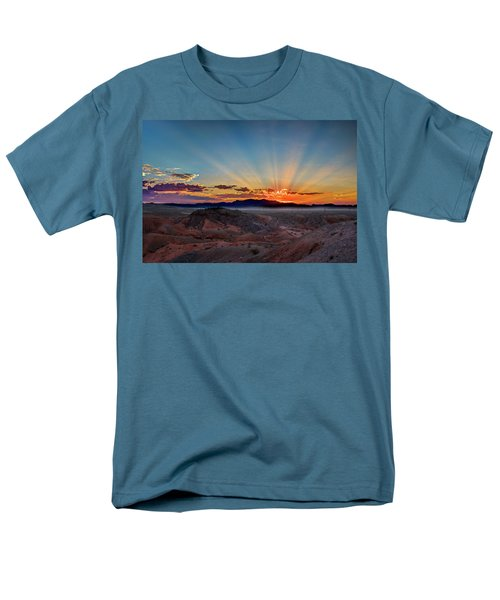 Mohave Sunrise Men's T-Shirt  (Regular Fit) by Mark Dunton