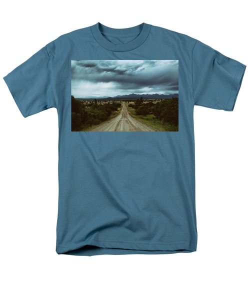 Monsoons From The Meadows Men's T-Shirt  (Regular Fit) by Jason Coward