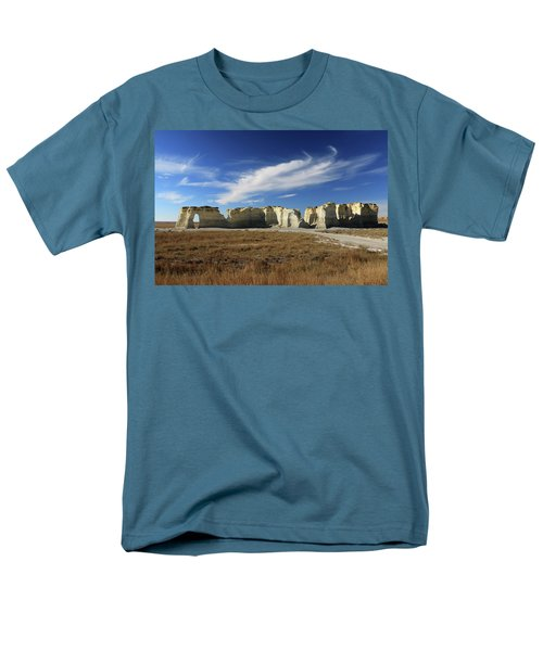 Monument Rock Afternoon  Men's T-Shirt  (Regular Fit) by Christopher McKenzie