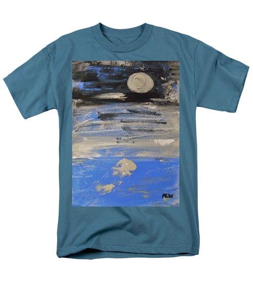 Moon In October Sky Men's T-Shirt  (Regular Fit) by Mary Carol Williams