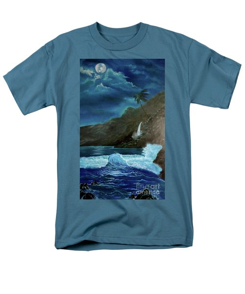 Moonlit Wave Men's T-Shirt  (Regular Fit)