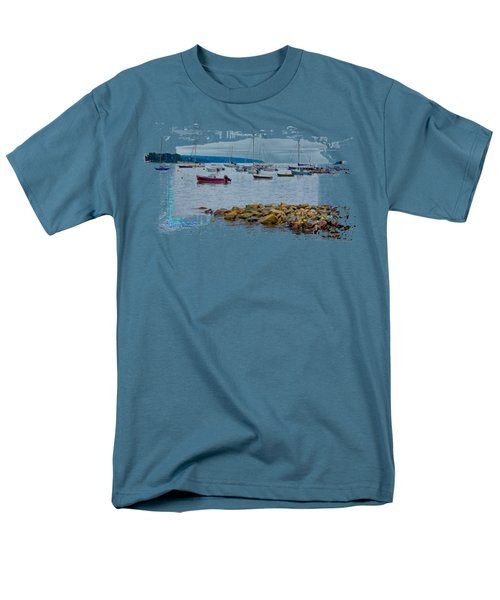 Moorings 2 Men's T-Shirt  (Regular Fit) by John M Bailey