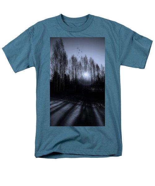 Morning Glow Men's T-Shirt  (Regular Fit) by Rose-Marie Karlsen