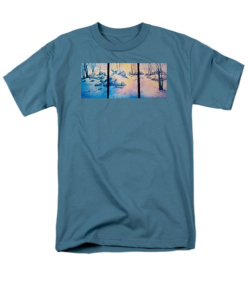 Men's T-Shirt  (Regular Fit) featuring the painting Morning Light by Carolyn Rosenberger