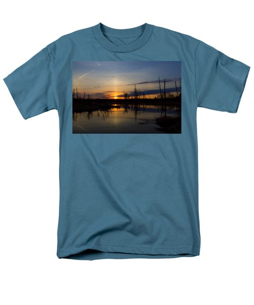 Men's T-Shirt  (Regular Fit) featuring the photograph Morning Wilderness by Gary Smith