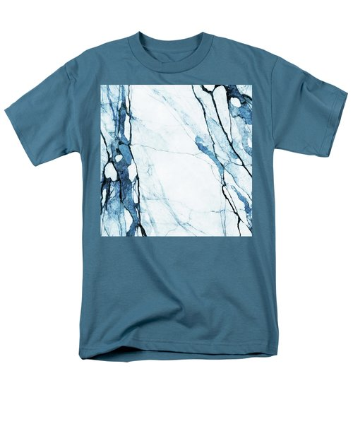 Moroccan Blues Men's T-Shirt  (Regular Fit) by Uma Gokhale