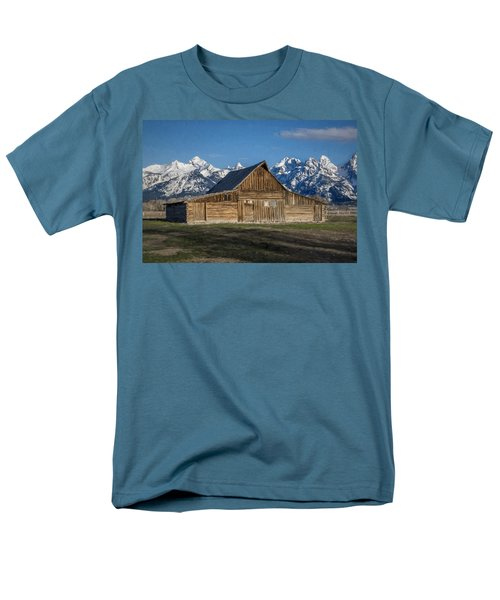 Moulton Barn Men's T-Shirt  (Regular Fit)
