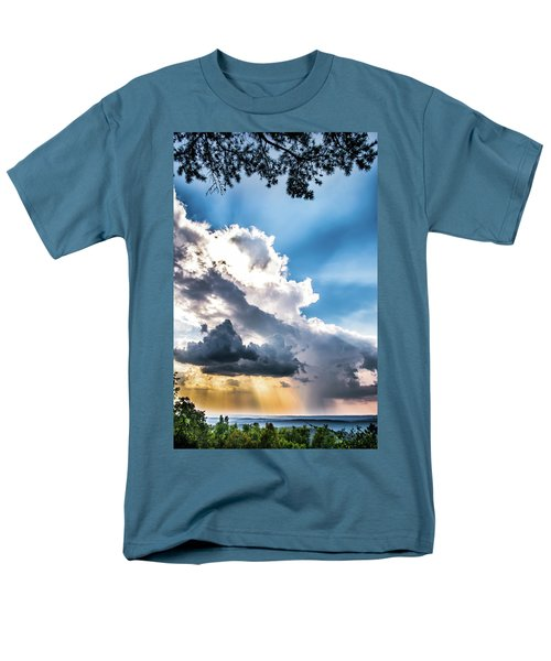 Men's T-Shirt  (Regular Fit) featuring the photograph Mountain Sunset Sightings by Shelby Young