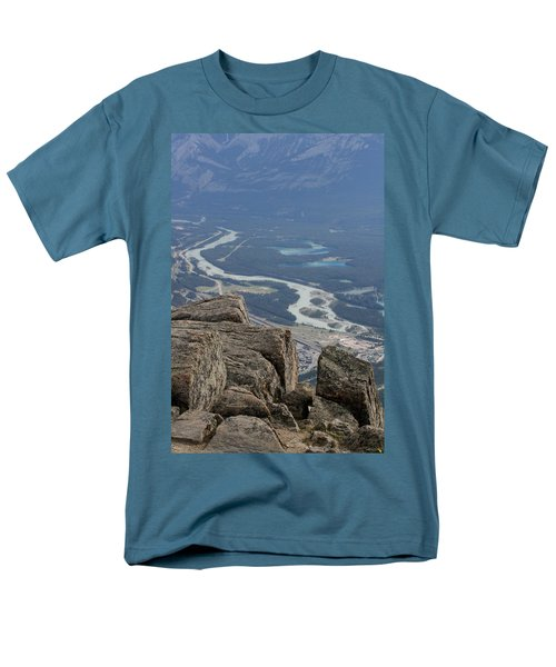 Men's T-Shirt  (Regular Fit) featuring the photograph Mountain View by Mary Mikawoz