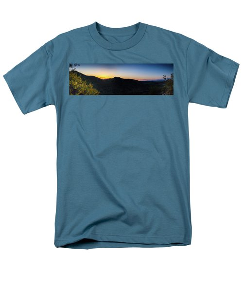 Mountains At Sunset Men's T-Shirt  (Regular Fit) by Ed Cilley