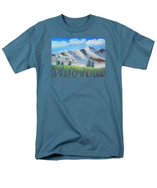 Mountains Men's T-Shirt  (Regular Fit)