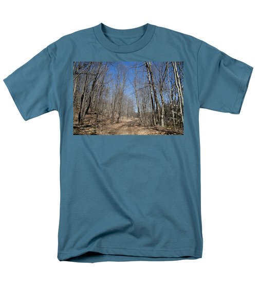 Men's T-Shirt  (Regular Fit) featuring the photograph Mud Season In The Adirondacks by David Patterson