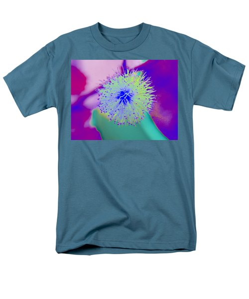 Neon Green Puff Explosion Men's T-Shirt  (Regular Fit) by Samantha Thome