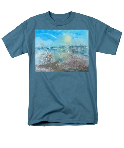 Boat In The Bay Men's T-Shirt  (Regular Fit)
