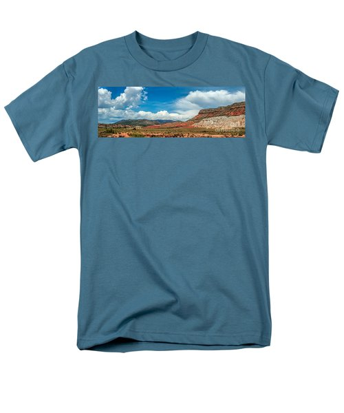New Mexico Men's T-Shirt  (Regular Fit) by Gina Savage