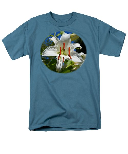 Newly Opened Lily Men's T-Shirt  (Regular Fit)