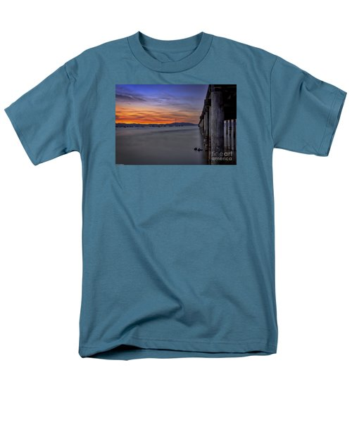 Men's T-Shirt  (Regular Fit) featuring the photograph Next To Nothing by Mitch Shindelbower