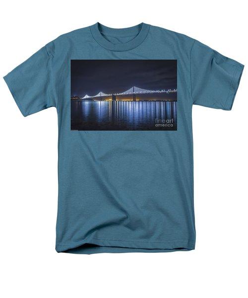 Night Bridge Men's T-Shirt  (Regular Fit) by Mitch Shindelbower