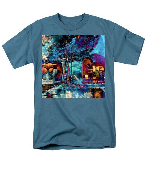 Night Light Men's T-Shirt  (Regular Fit)