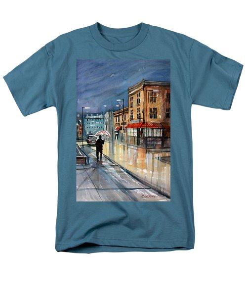 Night Lights Men's T-Shirt  (Regular Fit) by Ryan Radke