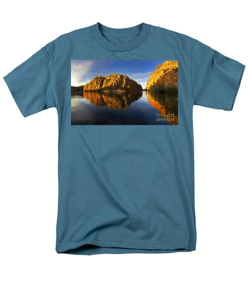 Men's T-Shirt  (Regular Fit) featuring the photograph Nitimiluk by Bill Robinson
