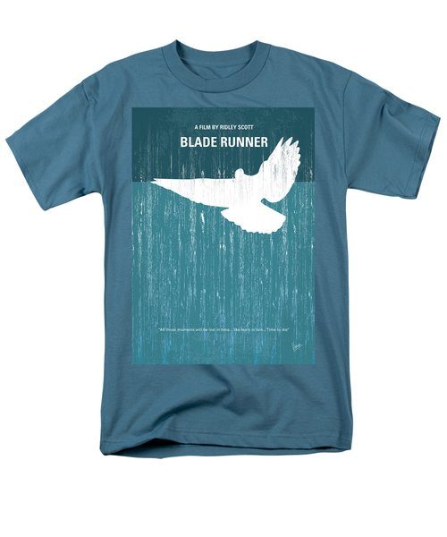 No011 My Blade Runner Minimal Movie Poster Men's T-Shirt  (Regular Fit)