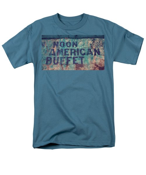 Men's T-Shirt  (Regular Fit) featuring the photograph Noon American Buffet by Toni Hopper