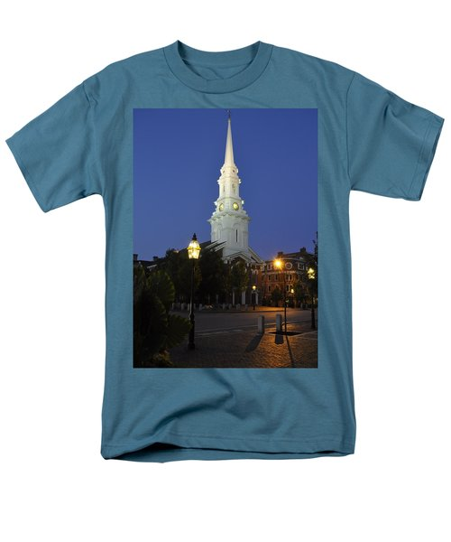 North Church Ncp Men's T-Shirt  (Regular Fit) by Jim Brage