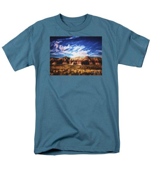 Men's T-Shirt  (Regular Fit) featuring the photograph Northern Arizona Painted Desert  ... by Chuck Caramella