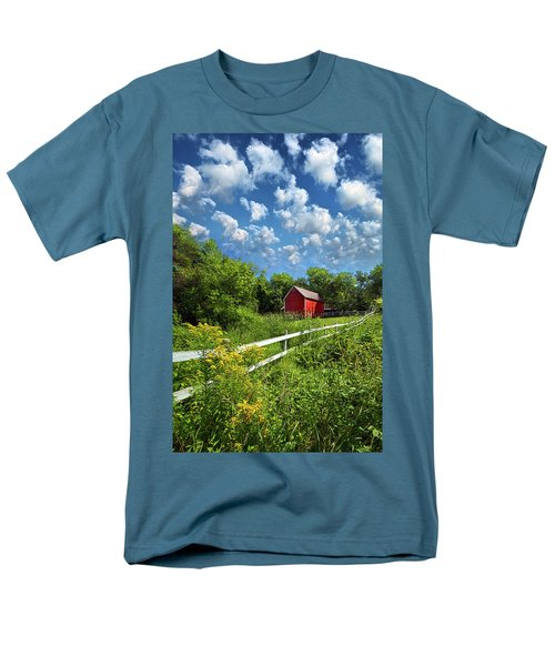 Noticing The Days Hurrying By Men's T-Shirt  (Regular Fit) by Phil Koch