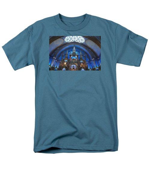 Notre Dame Basilica Men's T-Shirt  (Regular Fit) by John Schneider