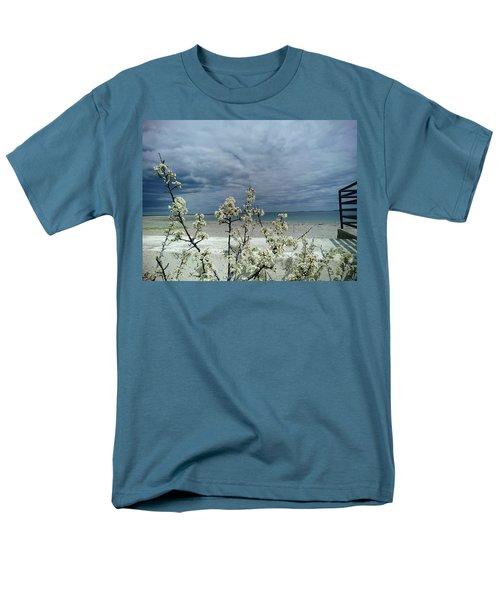 Ocean Spring Men's T-Shirt  (Regular Fit) by Robert Nickologianis