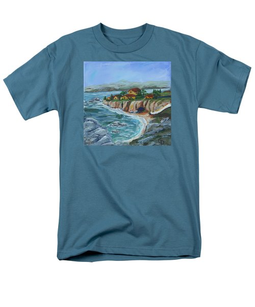 Ocean View Men's T-Shirt  (Regular Fit)