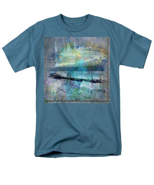 Ohio River Splatter Men's T-Shirt  (Regular Fit) by Diana Boyd