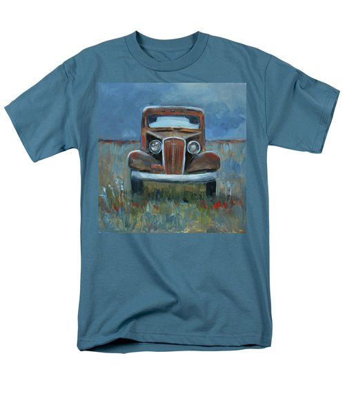 Men's T-Shirt  (Regular Fit) featuring the painting Old Timer by Billie Colson